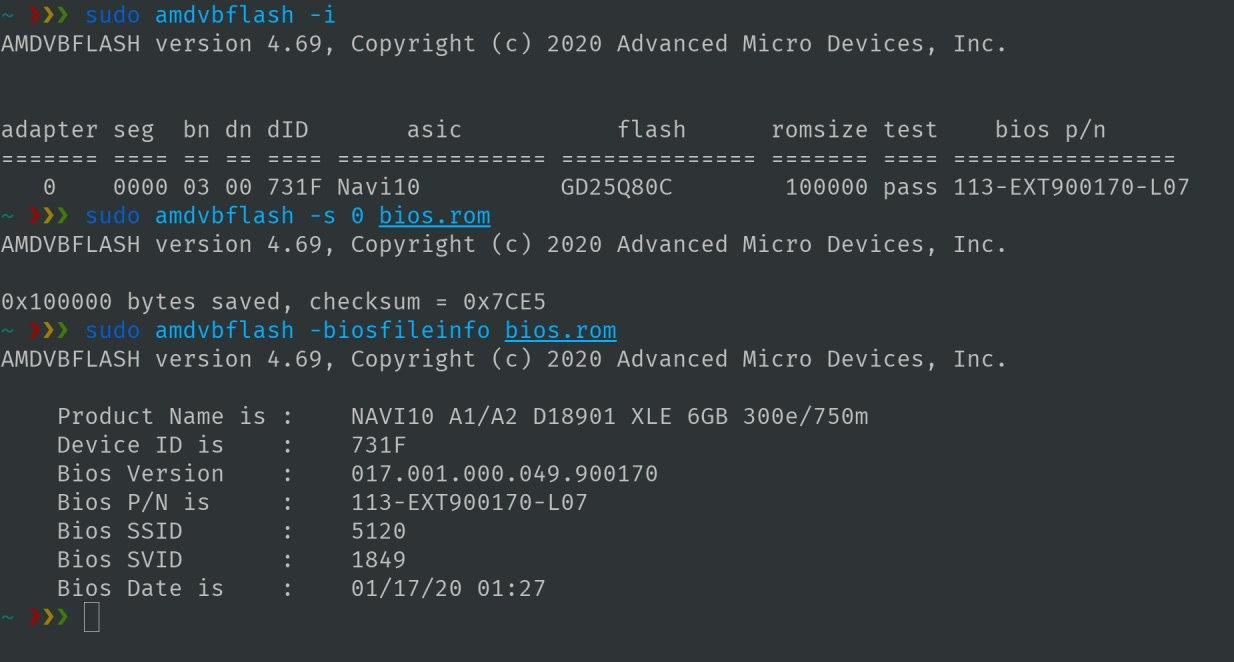 finally how to flash amd vbios in linux  tony is coding